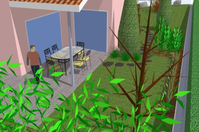 lancement de sketchup garden sketchup garden. Black Bedroom Furniture Sets. Home Design Ideas